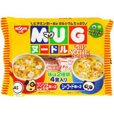 Mỳ ăn liền Mug Nissin (94g) Nhật Bản