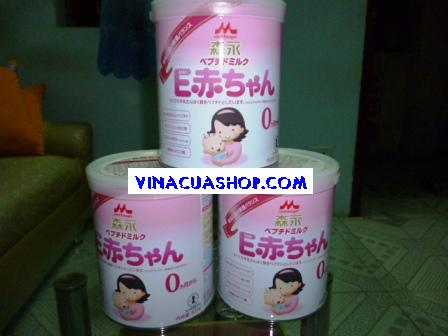 Sữa Morinaga E-Akachan số 0 cho trẻ sinh non/dễ dị ứng 800gr.