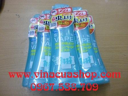 Xịt chống muỗi và côn trùng SKIN VAPE (xanh).