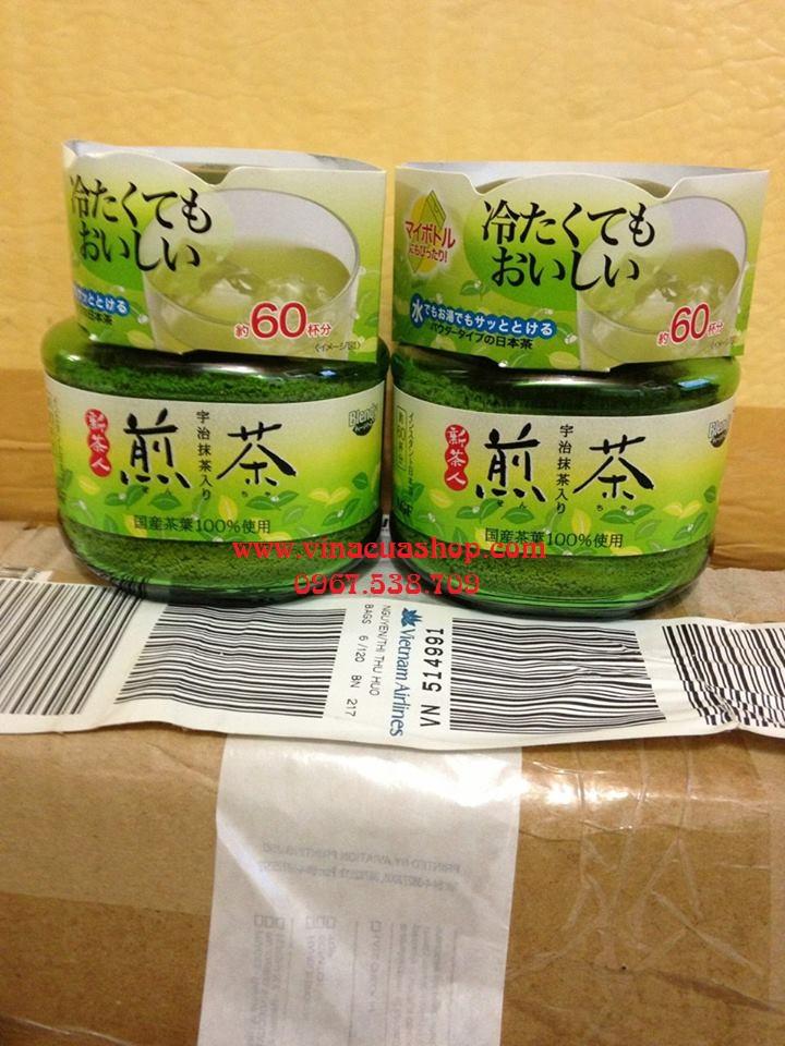 Bột trà xanh nguyên chất  Nhật Bản lọ 50g