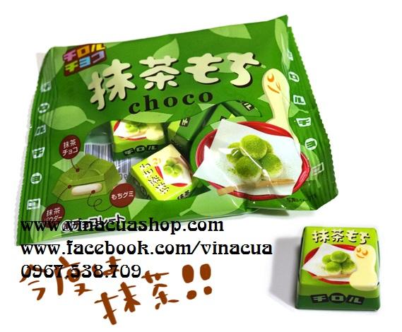 Kẹo dẻo Mochi vị trà xanh Choco