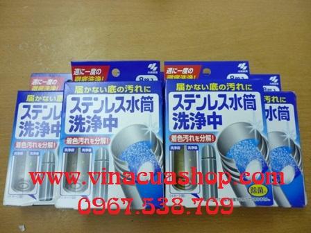 Viên rửa bình giữ nhiệt Nhật Bản