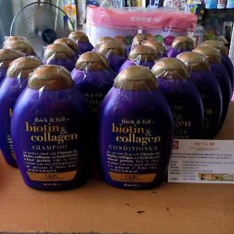 Bộ Dầu gội  và xả Thick & full Biotin Collagen 385ml