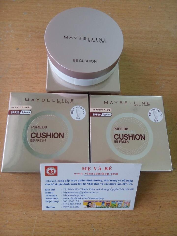 Phấn nước MAYBELLINE Pure BB Mineral Cushion BB Fresh