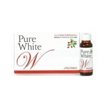 Pure White Shiseido – Nước uống Collagen Trắng da, Trị Nám