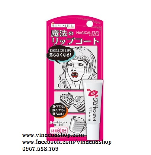 Son giữ màu Rimmel Magical Stay Lip Coat 6g