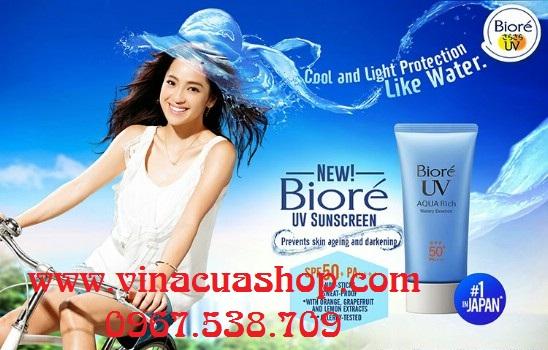 Kem chống nắng Biore UV AQUA Rich SPF 50 PA+++
