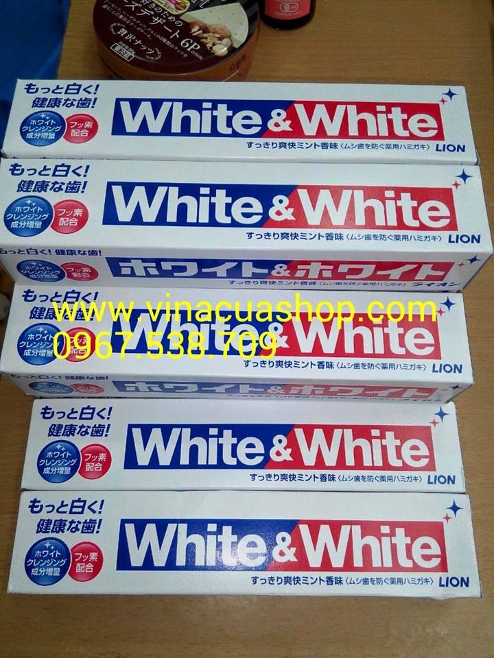 Kem đánh răng White & White