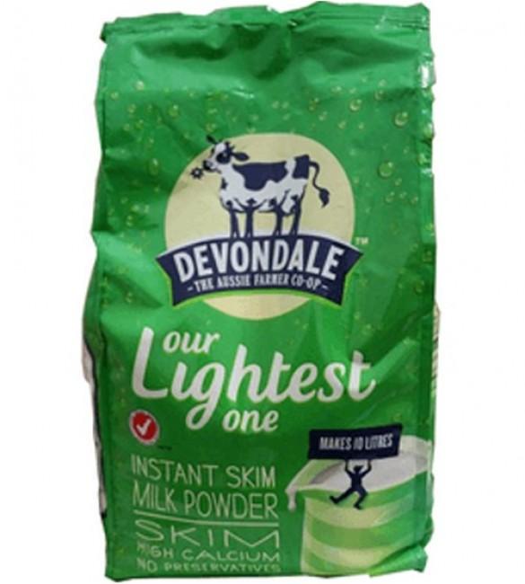 Sữa tươi dạng bột tách kem Devondale 1kg