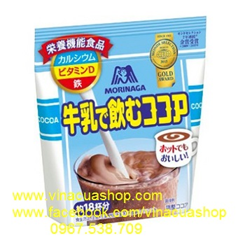Bột Cacao sữa Morinaga 220gr.