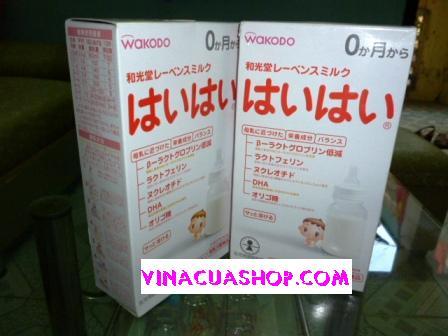 Sữa Nhật WAKODO 0 dạng gói (thanh)