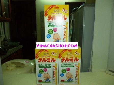 Sữa Morinaga 9 dạng thanh